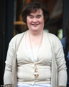 Susan Boyle; a star in sheepish clothing.