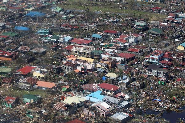 Suffering Souls in the Phillipines: A Typhoon Strikes