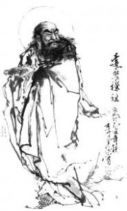 Bodhidharma traveled from India to introduce Zen (Ch'an)to China.
